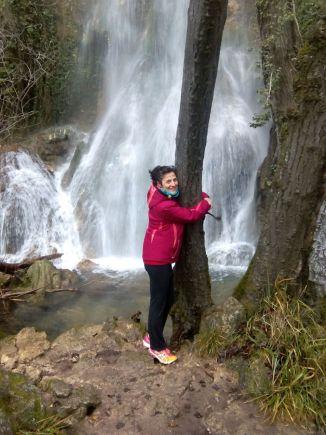 abrazando a la naturaleza