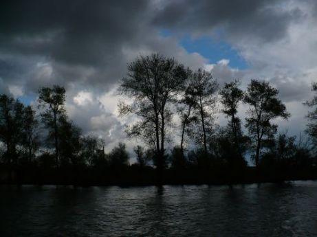 Dunărea învolburată