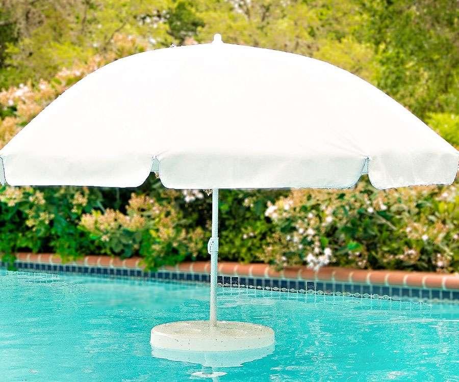 Sombrilla flotante  Un poco de lujo para tu piscina  Me