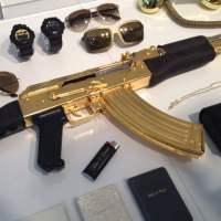 Rifle AK-47 de Oro