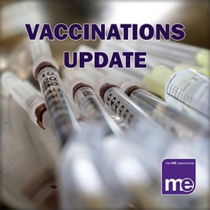 Update on flu vaccinations and COVID-19 booster vaccinations for people with ME/CFS