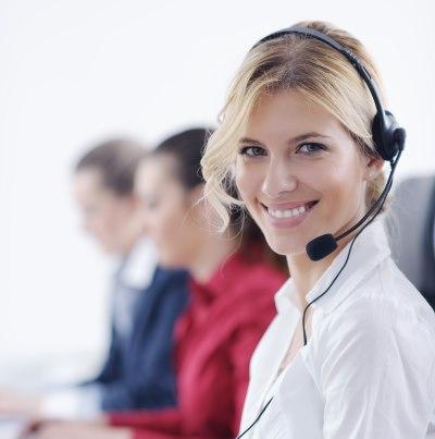 phone sales woman