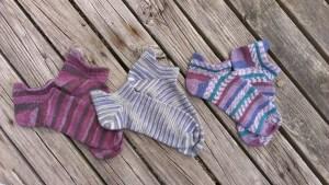 3 pairs of socks
