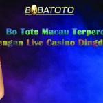 Bo Toto Macau Terpercaya 2021 Dengan Live Casino Dingdong Terbesar