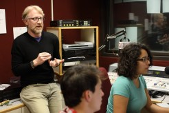 """2016 November 18: The """"Measure of Everyday Life"""" taping at WNCU on the campus of North Carolina Central University in Durham, NC."""