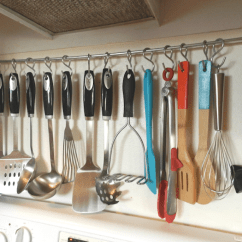 Kitchen Utensil Rack Large Play Diy Hanging Measuring Flower