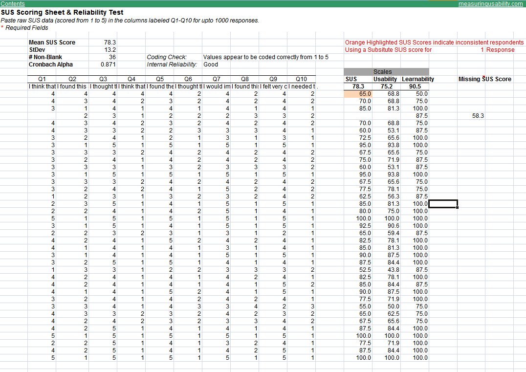 Grade Calculator Spreadsheet