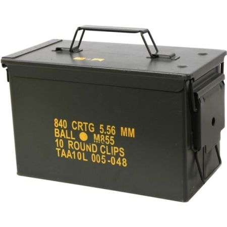ThatDailyDeal: Military US Surplus 50 Caliber Ammo Case, $14.99 - SHIPS FREE!