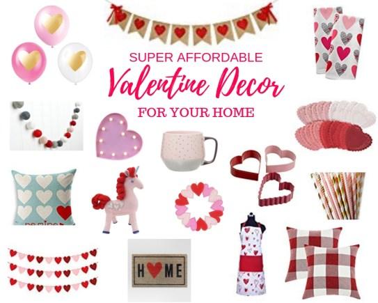 Valentine decor for your home Valentine's Day
