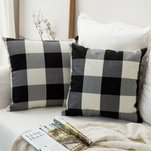 buffalo-plaid-pillow-covers