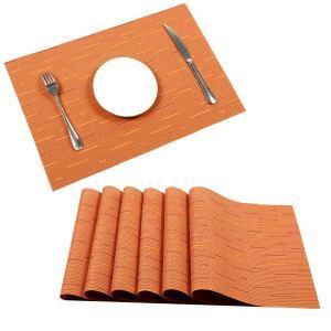 orange-placemats