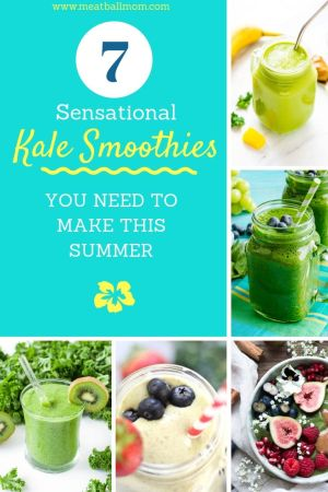 I didn't want to overload you with 80 kale smoothie recipes to try. Instead, I scoured the internet for the best kale smoothies out there, and I picked a select few for you to enjoy. #kale, #kalesmoothie, #healthybreakfast, #healthysnack, #smoothies, #smoothierecipes, #smoothieshealthy, #toddlermeals #toddlersnack