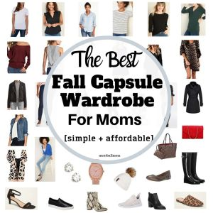capsule-wardrobe-for-moms-collage