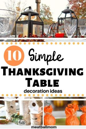 10 -Simple-Thanksgiving-Table-Decorations-ideas#thanksgiving #thanksgivingdecorations #thanksgivingtable #thanksgivingtablescape #falldecor