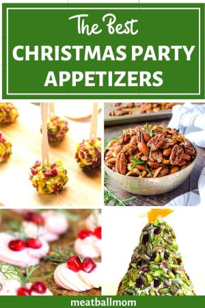 Easy-Christmas-Party-Appetizers #Christmas #appetizers #christmasappetizers #christmasappetizer #christmasfood #holidayrecipes #holidayappetizers #partyfood