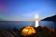 Cabot Trail Camping Meat Cove