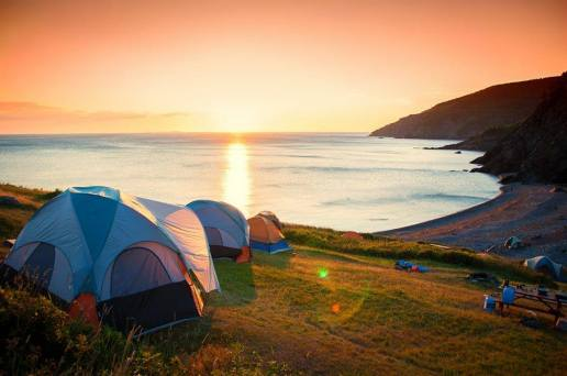 Rough Camping in Cape Breton