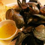 Freshly Steamed Mussels Clams Lobster Seafood