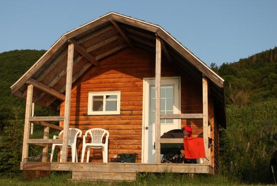 cabin rentals at meat cove campground