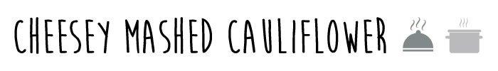 low carb keto mashed cauliflower