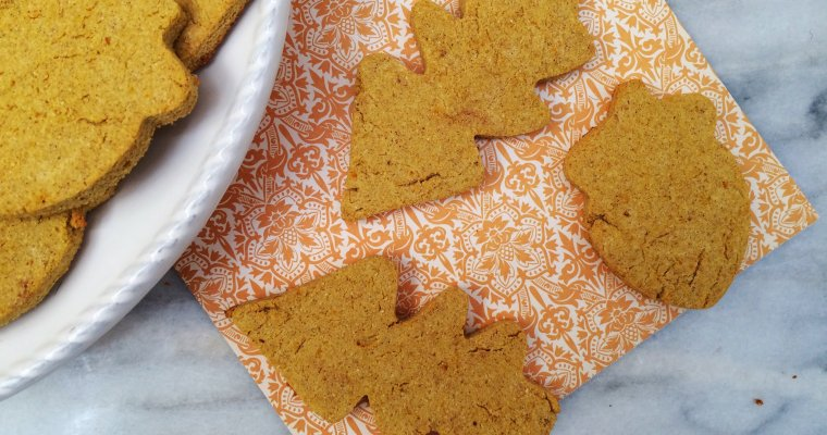 Low Carb Pumpkin Spice Shortbread