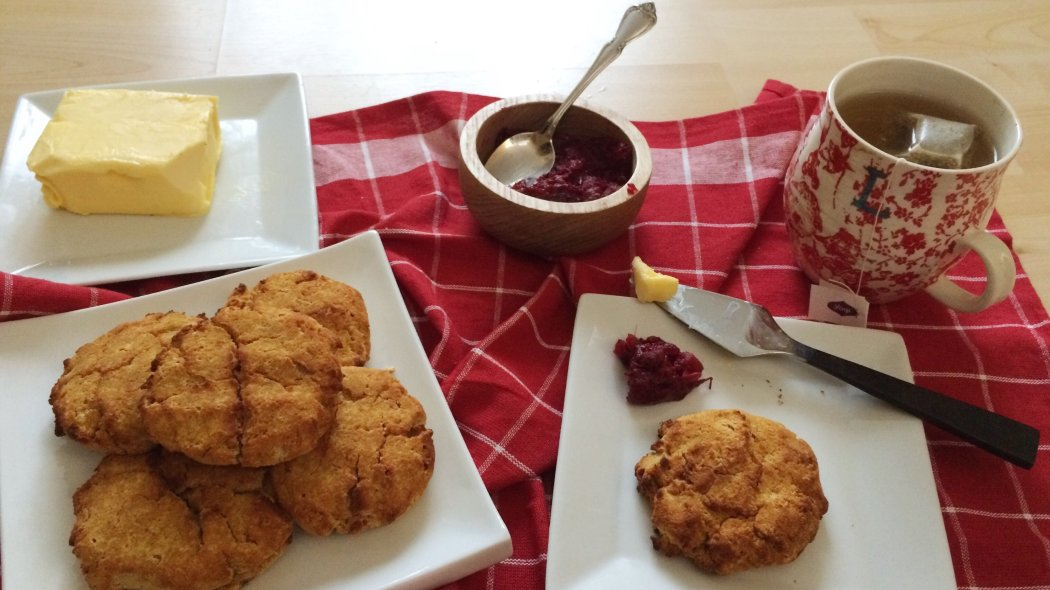 Pumpkin Spice Low Carb Scones | lightly sweet, grain free, gluten free, nut free and full of warming spices!