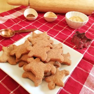 Low Carb Vegan Gingerbread Cookies   a simple and delicious low carb, sugar free and keto and LCHF-friendly Christmas holiday cookie!