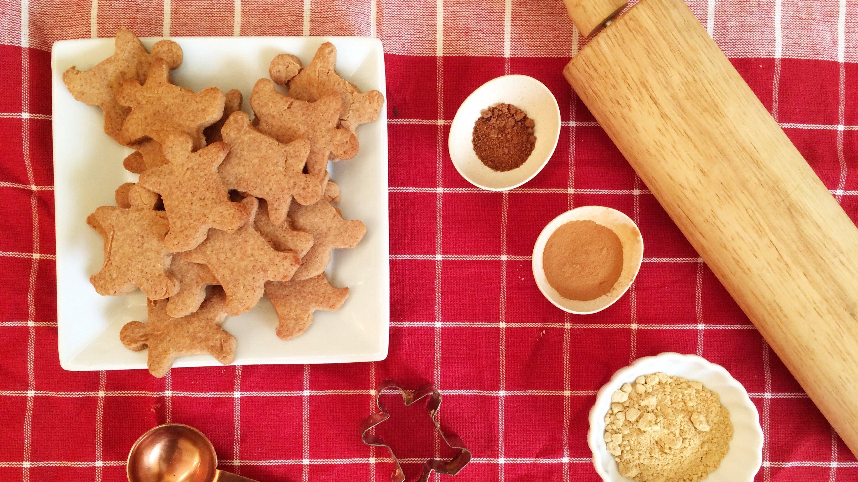 Low Carb Vegan Gingerbread Cookies