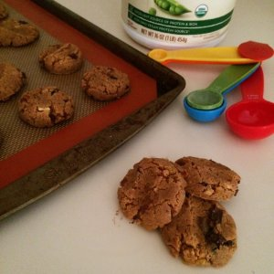 Low Carb Vegan Protein Cookies | Grain free, gluten free, sugar free & keto friendly protein cookies for everyone!