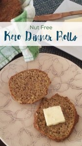 Nut Free Keto Dinner Rolls | A low carb, gluten free & grain free alternative to bread!