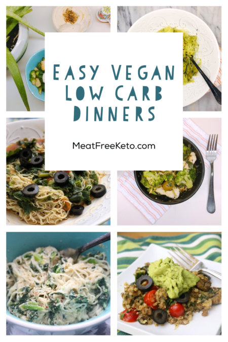 Easy Vegan Keto Dinner Ideas