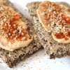 Low Carb Vegan Crispbread - Lavkarbo Knekkebrød   Meat Free Keto - This super easy recipe makes the perfect low carb, gluten free, nut free vegan flatbread for breakfast, lunch and dinner!