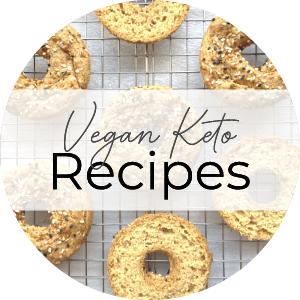 vegan keto recipes button