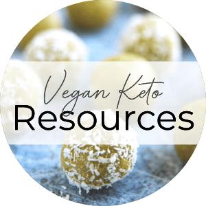 vegan keto resources button