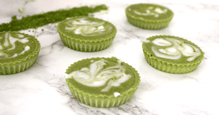 Low Carb Vegan Mint Matcha Fat Bombs