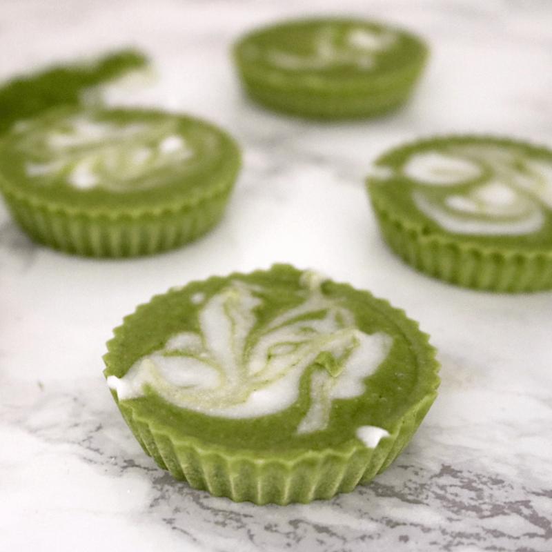 Low Carb Vegan Mint Matcha Fat Bombs