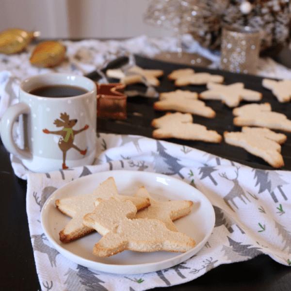 Vegan Keto Sugar Cookies