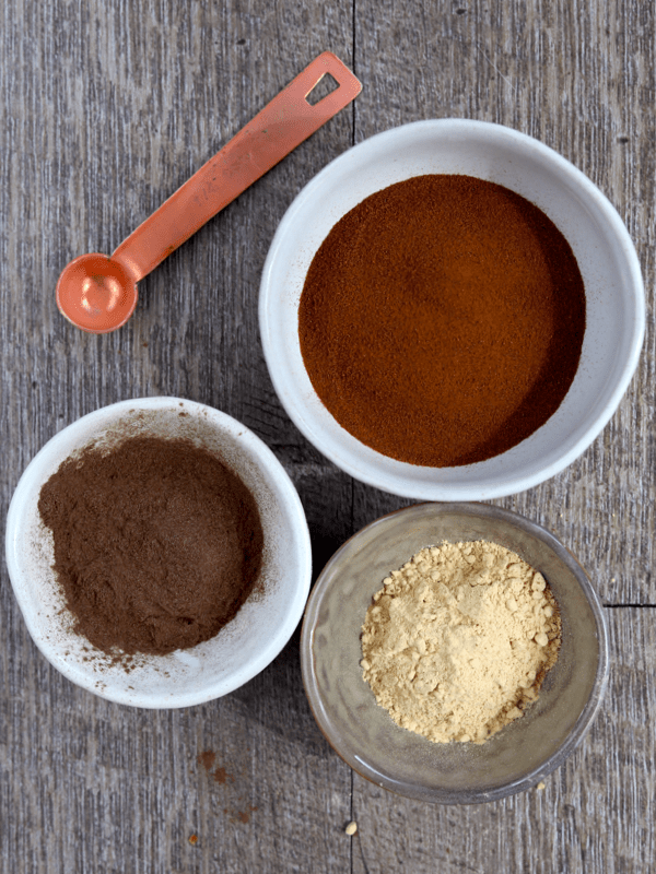 ingredients for vegan keto instant mushroom coffee