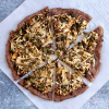 Vegan Keto Fathead Pizza Crust | MeatFreeKeto.com - Dairy-free, egg-free, gluten-free, nut-free