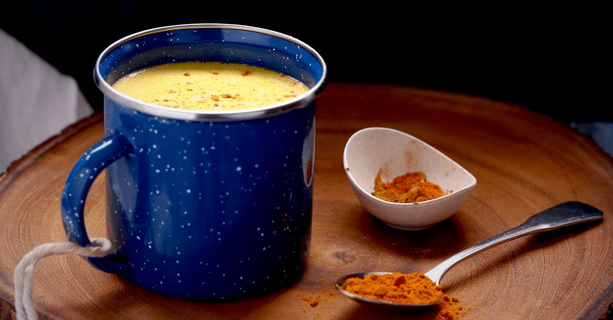 Vegan Keto Golden Milk Tea Latte