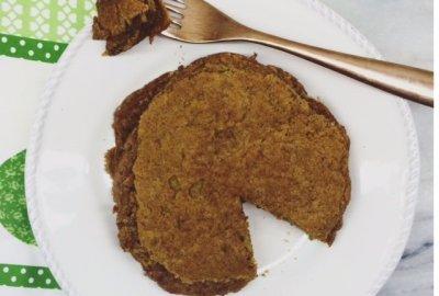 Low Carb Vegan Protein Pancakes - A delicious grain free, gluten free, soy free, nut free keto friendly breakfast option!