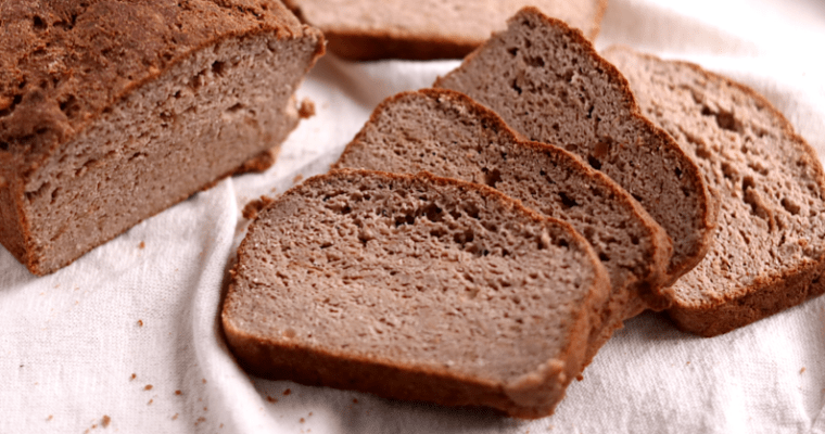 Craving-Crushing Soft Vegan Keto Bread (gluten-free, soy-free)