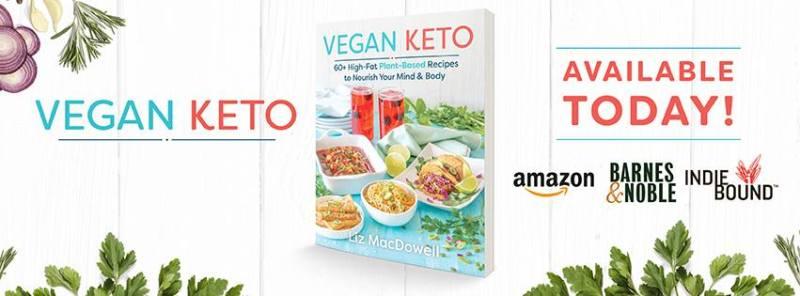 Vegan Keto Cookbook Banner