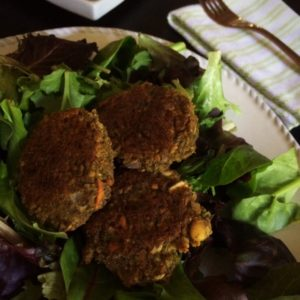 Low Carb Falafel Recipe | A delicious gluten free & vegan lower carb alternative to traditional falafel!