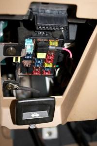 2007 Mazda 6 Interior Fuse Box Cover 2007 Mazda 6 Fuse ...