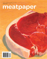 Meatpaper #4 Cover