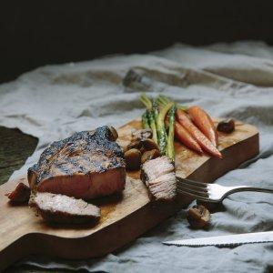 2 (10oz) Pork Loin Shoulder Chop -0