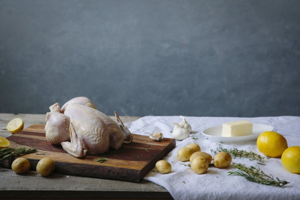 1 (3.5LB) Organic Whole Chicken-199