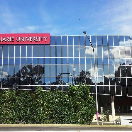 street view of Macquarie University