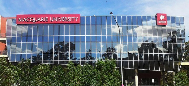 street view of Macquarie University